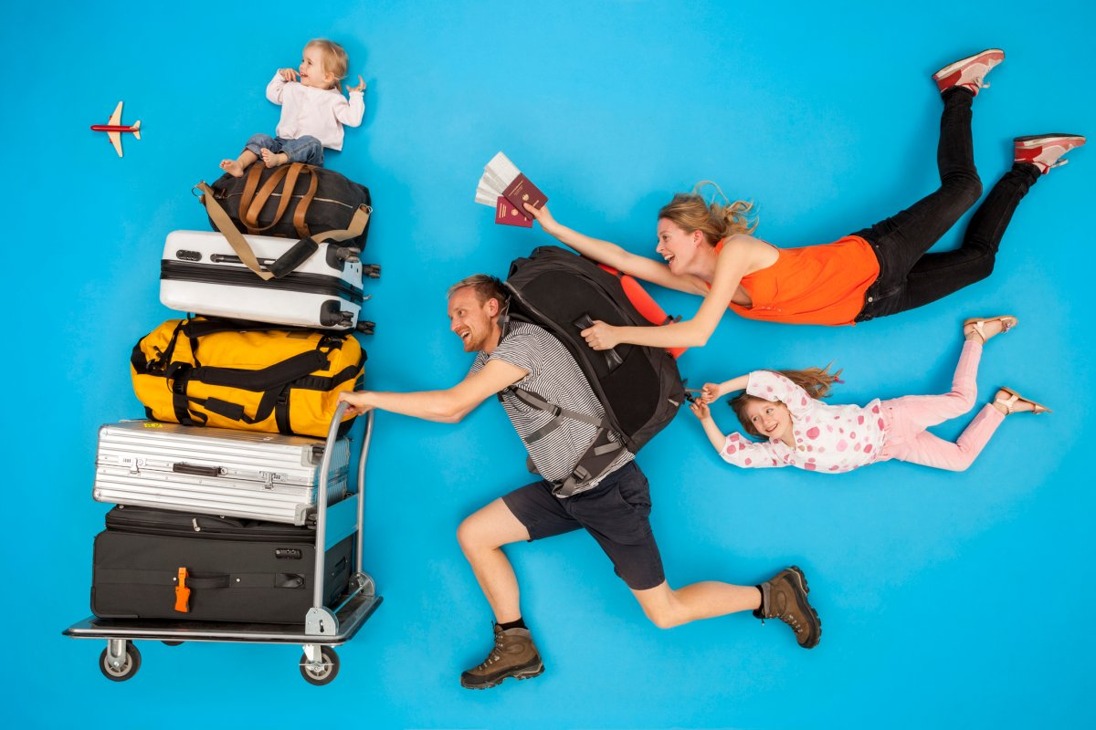 According to an Expedia poll, 95 per cent of Canadians felt happier on a family vacation.