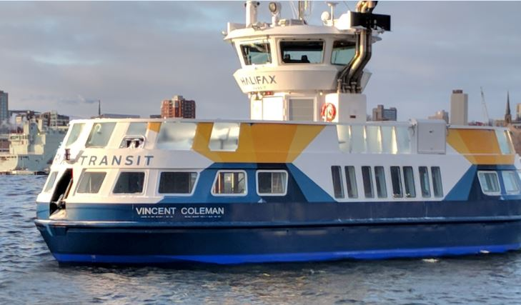 Halifax, N.S., has unveiled its newest ferry, the Vincent Coleman, named after the heroic train dispatcher who died during the Halifax Explosion in 1917.