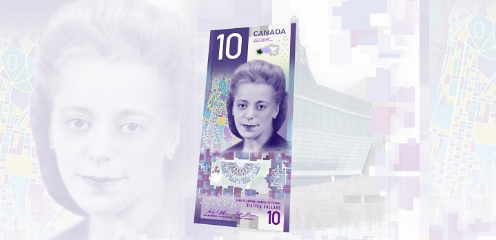 Canada's new $10 banknote.