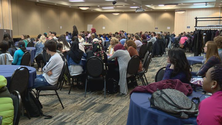The Open Door Society's 11th annual Voices of Youth conference took place on Tuesday in Saskatoon.