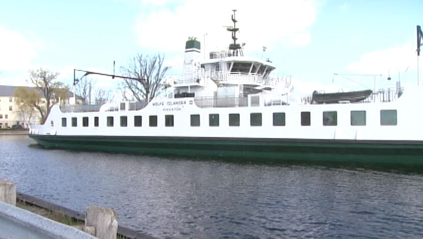 The Wolfe Island Ferry will start using the winter dock next week.