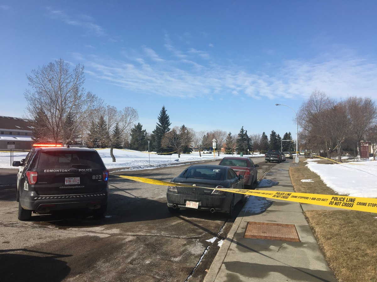 Man with gunshot wounds found near 91 Street and 145 Avenue at around 3:30 a.m. on April 8, 2018.