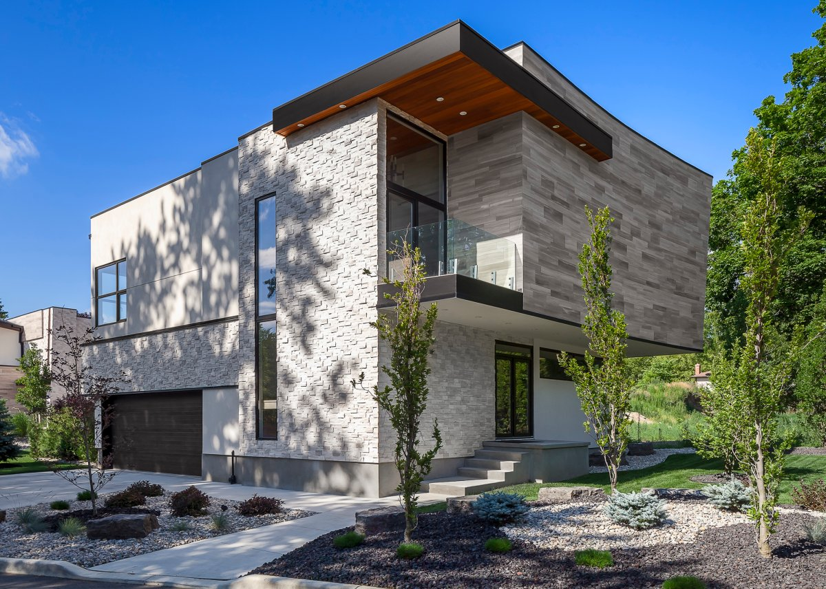 One of the 'dream homes' featured on Byron Baseline Road.