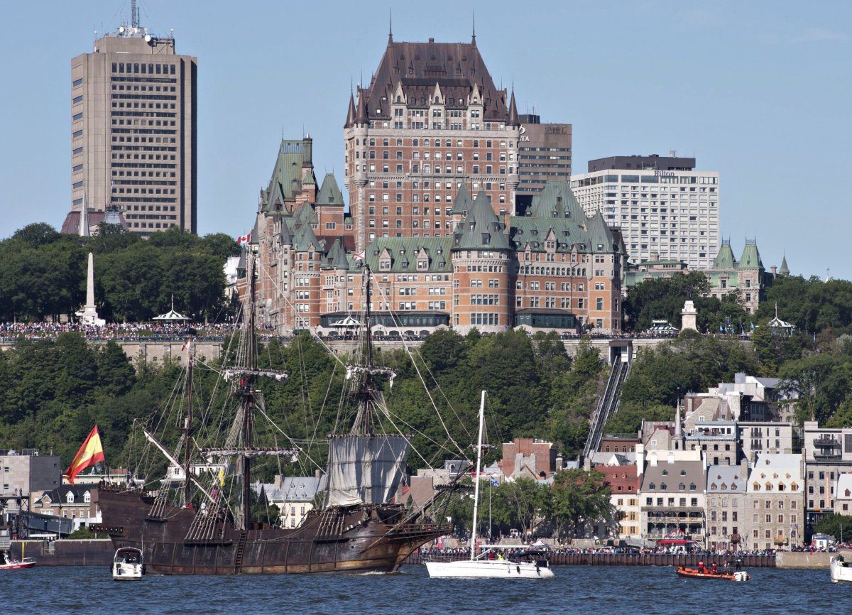 Quebec City's Chateau Frontenac, the majestic hotel overlooking the St. Lawrence River, marks its 125th anniversary with a number of special events.