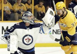 Continue reading: Winnipeg Jets lock up goalie Connor Hellebuyck with six-year deal