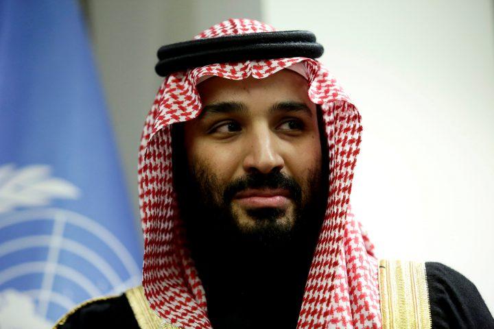 Saudi Arabia's Crown Prince Mohammed bin Salman Al Saud on March 27, 2018.