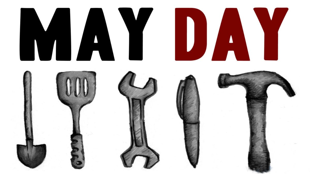 Tuesday May 1st 2018 5pm: BBQ at Skeleton Park 6pm: March! maydaykingston@riseup.net Since the Haymarket affair in 1886, May 1st has been marked around the world as International Workers Day or May Day. In Kingston, anti-capitalists have been gathering on May Day to share food, hear rousing speeches and hit the streets on May Day since 2011. We're proud to be a part of this tradition, but also want to make sure we continue to be creative, dynamic and responsive to the current conditions. May Day is an opportunity to gauge and build our capacity, connect our struggles, and have fun together. There's no shortage of reasons to hit the streets with enthusiasm this year. Greedy employers respond to a modest minimum wage increase with petty rollbacks. Students around the world mark 50 years since the revolts of May 68. Tenants in Kingston organize to fight back against their landlords. Gentrification continues to displace poor folks and devastate the waterfront. A lawsuit by federal prisoners challenging 30% cuts to already pathetic prison wages is thrown out by a Federal Court, paving the way for unrest. Justin Trudeau proves that he cares more about big business than indigenous consent or the planet, as his government attempts to force the construction of the TransMountain pipeline despite massive opposition. The far right rears its ugly head and gains momentum for its racist agenda, energized by the US election. But as Confederate statues start toppling down south, efforts grow to attack the legacy of the genocidal founding fathers of the Canadian state. Politicians only offer us empty promises and thinly veiled threats. As the circus that is the Ontario election approaches, we call for people to stay focused on building grassroots and dynamic movements that can effect real change. The system is rigged: every vote is a vote for capitalism. If this sounds up your alley, or you're just curious to hear more, join us for the May Day BBQ and March, starting at 5pm in Skelet