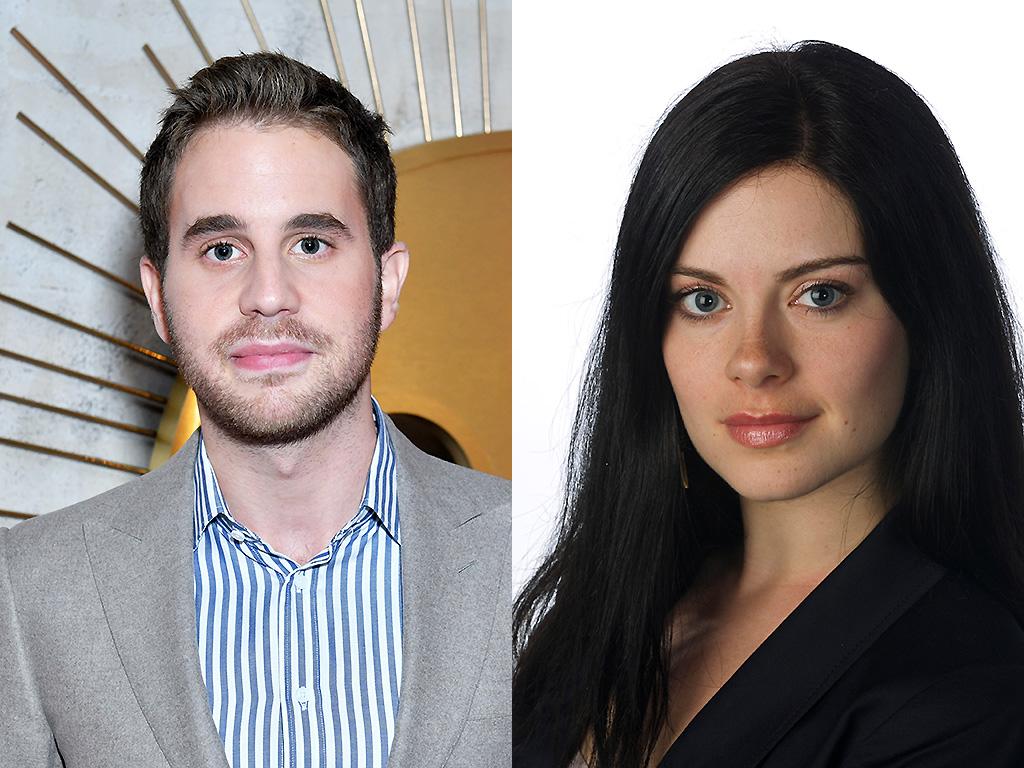 Ben Platt (L) has been cast in 'Run This Town.' Robyn Doolittle (R) is pictured in her 2011 Toronto Star photo.