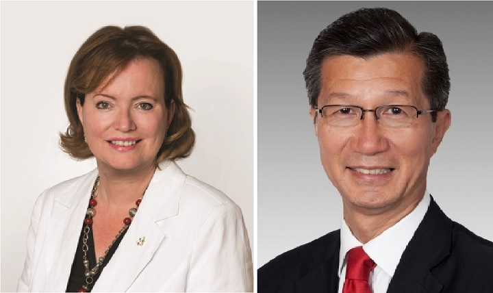Tracy MacCharles (left) and Michael Chan (right) will not seek re-election in the upcoming Ontario election.