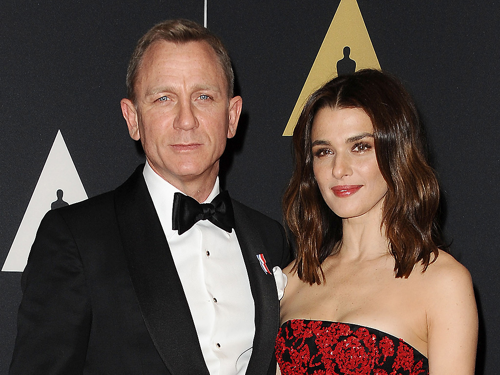 Daniel Craig and Rachel Weisz attend the 7th annual Governors Awards at Hollywood & Highland Center on November 14, 2015 in Hollywood, Calif.