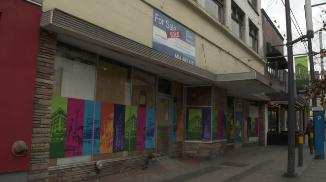 Skyrocketing property values, property taxes and long waits for permits are leading to a proliferation of empty storefronts, says a Vancouver business group.