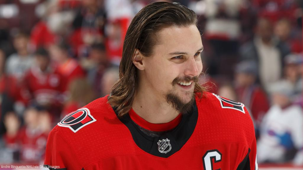 Ottawa Senators captain Erik Karlsson offered a touching tribute to the victims of the Humboldt Broncos bus crash on Friday.