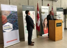 Continue reading: Fleming College to receive $12M to reduce greenhouse gas emissions