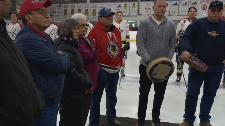 Nearly 30 teams from across Canada are in Saskatoon for the tournament, which showcases Aboriginal hockey talent.