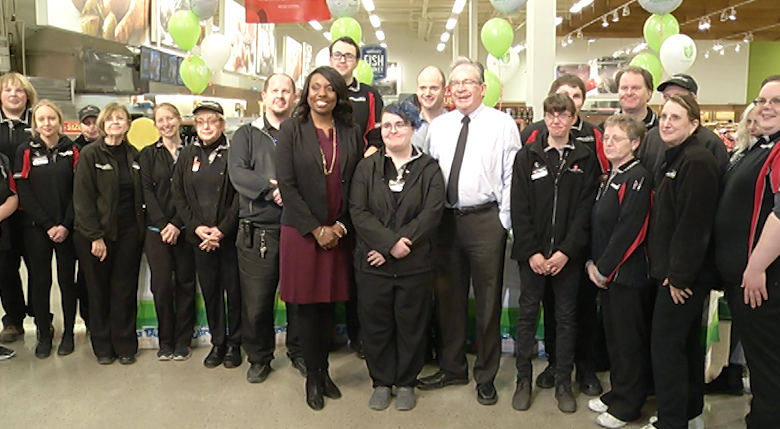 The provincial government announces $124 million to help youth find jobs.