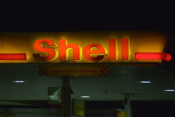Royal Dutch Shell gas station.