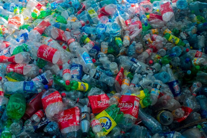 FILE: PET (polyethylene terephthalate), the plastic used in bottles, can take hundreds of years to break down in the environment, so it usually ends up as waste in landfills, littered on land or floating in oceans. The modified enzyme can break it down in just a few days, the study shows.
