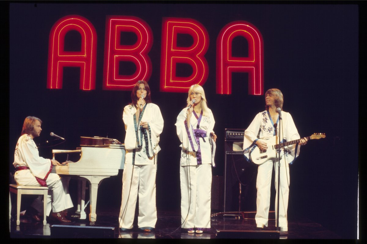 Abba 1977 on Midnight Special.