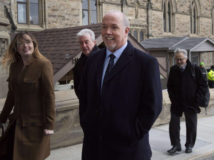 Premier John Horgan says most British Columbians think the new school tax on homes valued over $3 million is fair.
