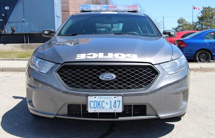 A Toronto Police Service cruiser.