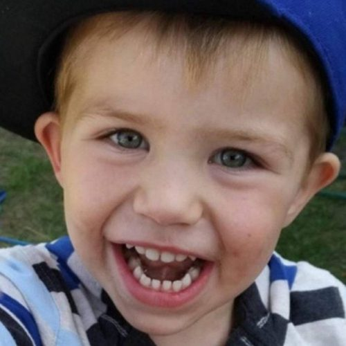 The body of three-year-old Kaden Young was found in the Grand River in 2018. His mother faces two charges in relation to his death.