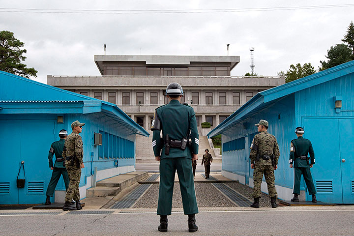 The United Nations Command Military Armstice Commission Conference Buildings in Panmunjom, South Korea are seen in this 2013 file photo. A Canadian military officer has been named to a key role with the UN in Korea.