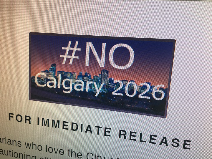 No Calgary Olympics group fights bid for 2026 Winter Games .