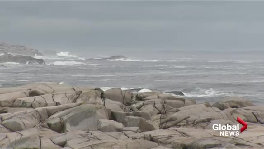 A federal scientist says deep water off the coast of Nova Scotia was abnormally warm earlier this week.