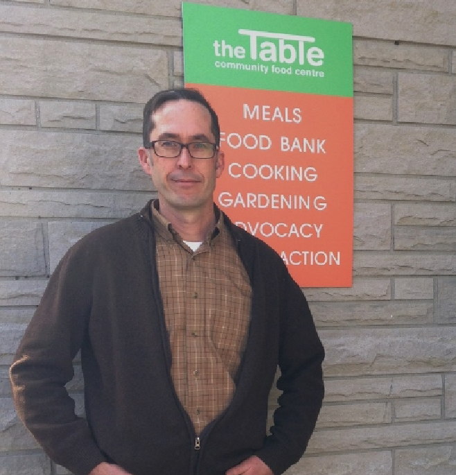 Ramsey Hart, executive director of The Table Community Food Centre in Perth, was named the NDP candidate for the Lanark-Frontenac and Kingston provincial riding on Saturday.