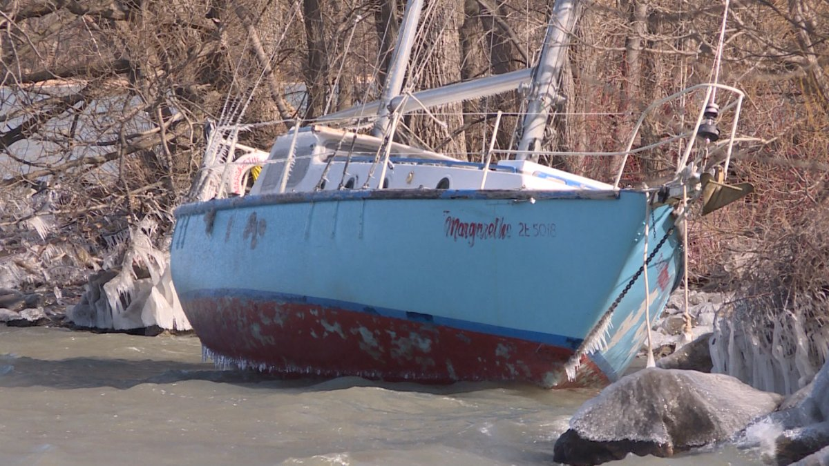 Owner of sailboat marooned on Wolfe Island pays hefty price for fuel removal - image