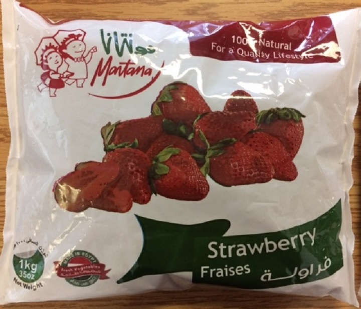 Frozen Montana brand strawberries sold in Quebec and Ontario are being recalled due to possible hepatitis A contamination. Sunday, April 15, 2018.