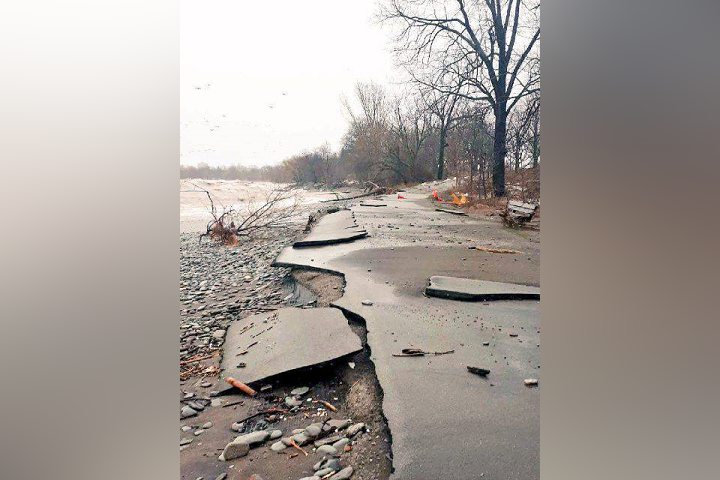 The impacts of extreme weather events have been seen along Hamilton's shorelines, and escarpment in recent years.