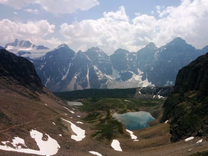 The view from the top of Sentinel Pass in July 2015.