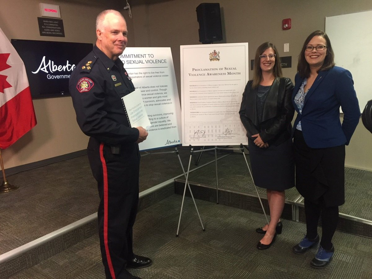 A new guide will offer best practices for Alberta police responding to sexual assault cases.
