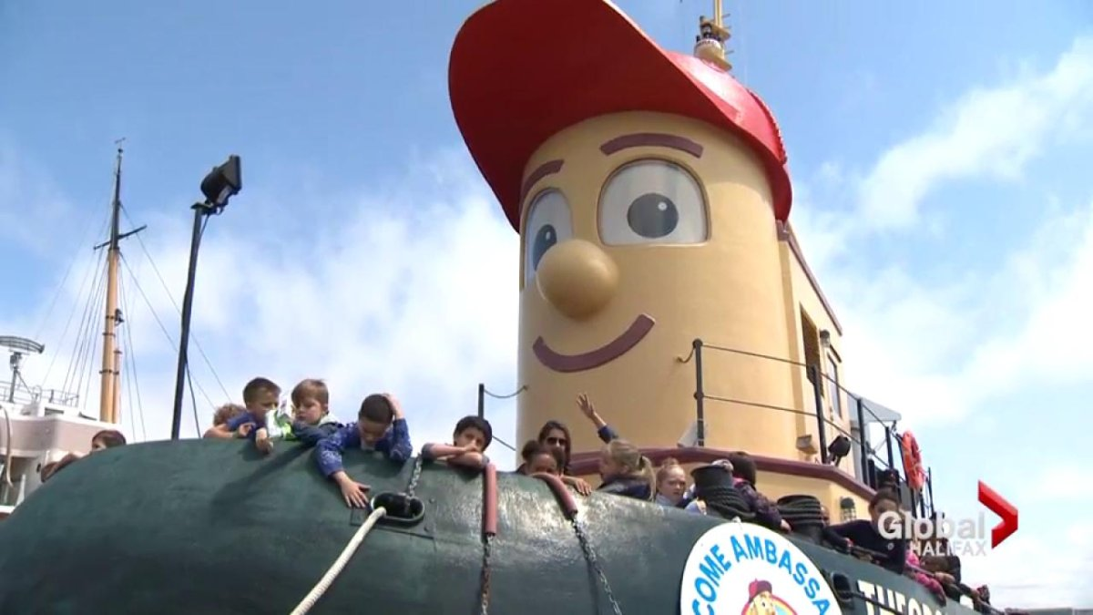 Halifax Harbour's most famous resident, Theodore Tugboat, is going up for sale 20 years after it was built for Ambassatours Gray Line.