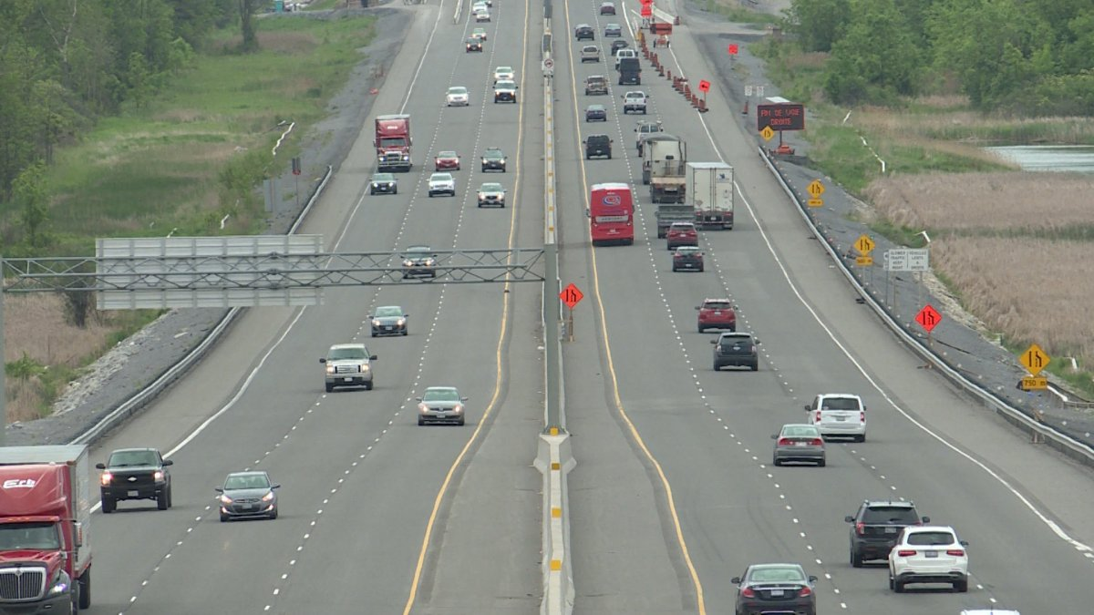 File photo of Highway 401.