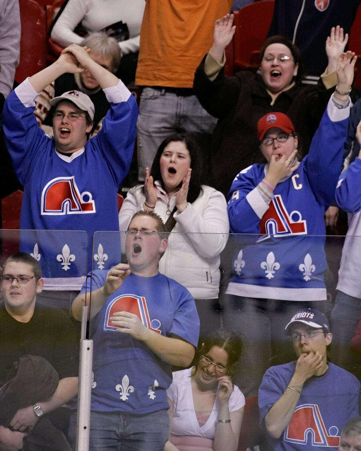 The Quebec Nordiques relocated to Denver and became the Colorado Avalanche.