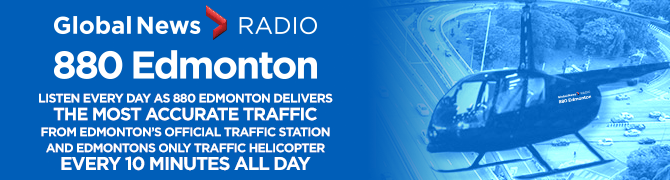 Listen every day as 880 Edmonton delivers the most accurate traffic from Edmonton's official traffic station and Edmonton's only traffic helicopter every 10 minutes all day.