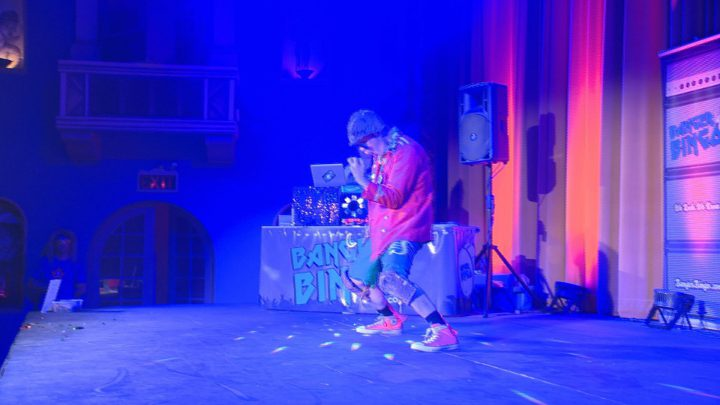 The Saskatchewan Air Guitar Championships took place on Saturday at the Roxy Theatre.