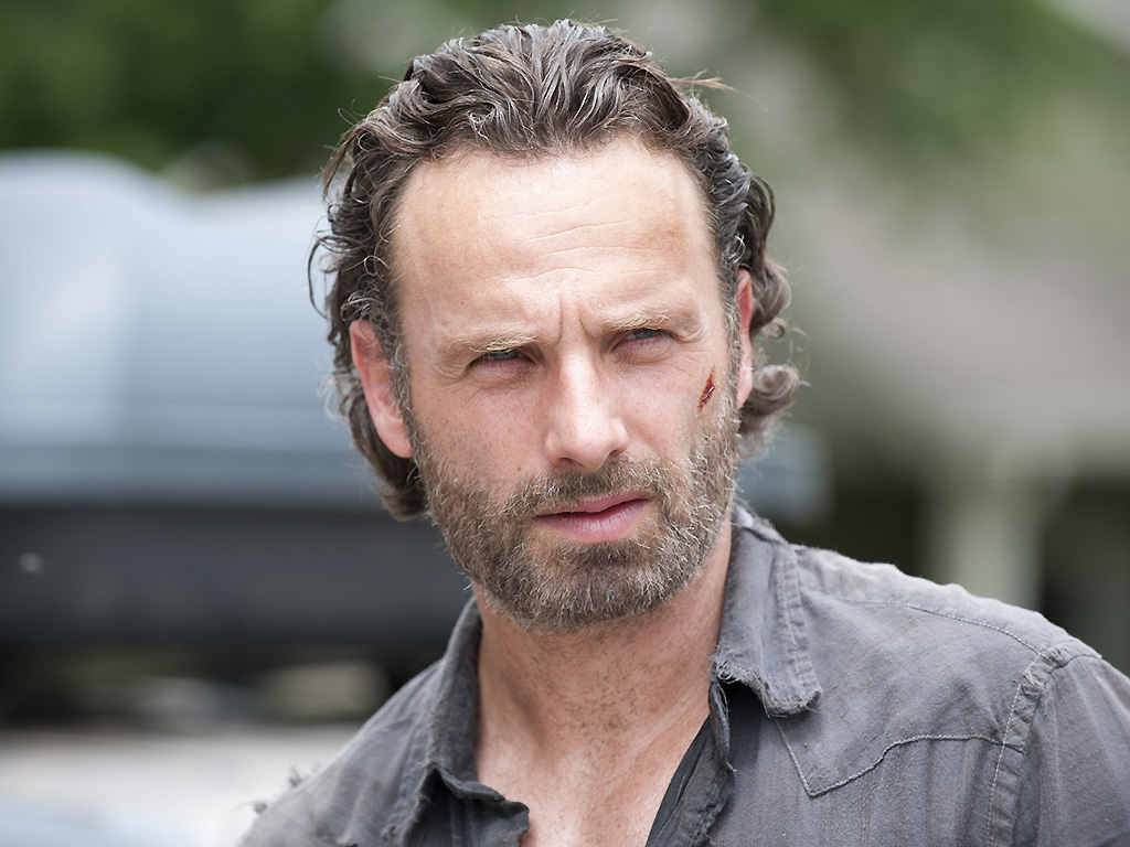 Andrew Lincoln as Rick Grimes on 'The Walking Dead.'.