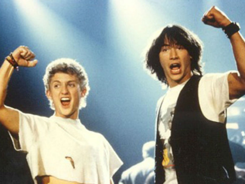 Alex Winter and Keanu Reeves star in 1989's 'Bill & Ted's Excellent Adventure.'.