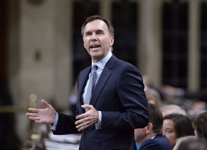 Minister of Finance Bill Morneau will renew the equalization process for another five years, beginning in 2019.