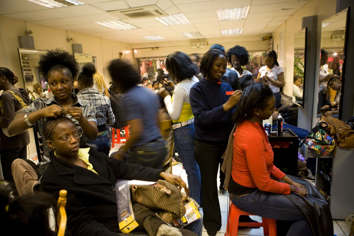 A new study finds that many hair products used primarily by black women contain potentially hazardous chemicals.