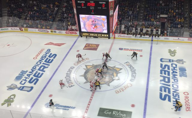 Hamilton Bulldogs owner Michael Andlauer has reached out to the City of Burlington about a potential relocation to the city, according to its mayor.
