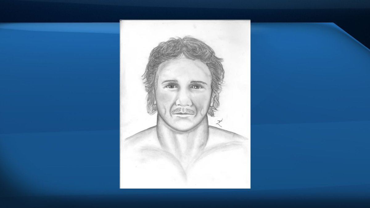 Calgary police composite sketch of a suspect after a woman reported being sexually assaulted on a trail in the city.