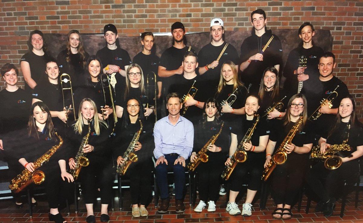 Campbellford High School's senior jazz ensemble won national honours.