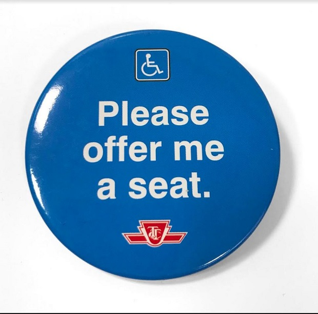 The buttons and cards will be available through TTC staff at subway collector booths or customer service agents on duty.