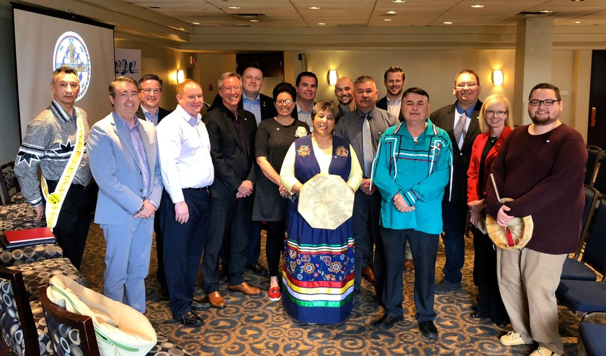The Nova Scotia bid committee for the 2020 North America Indigenous Games.