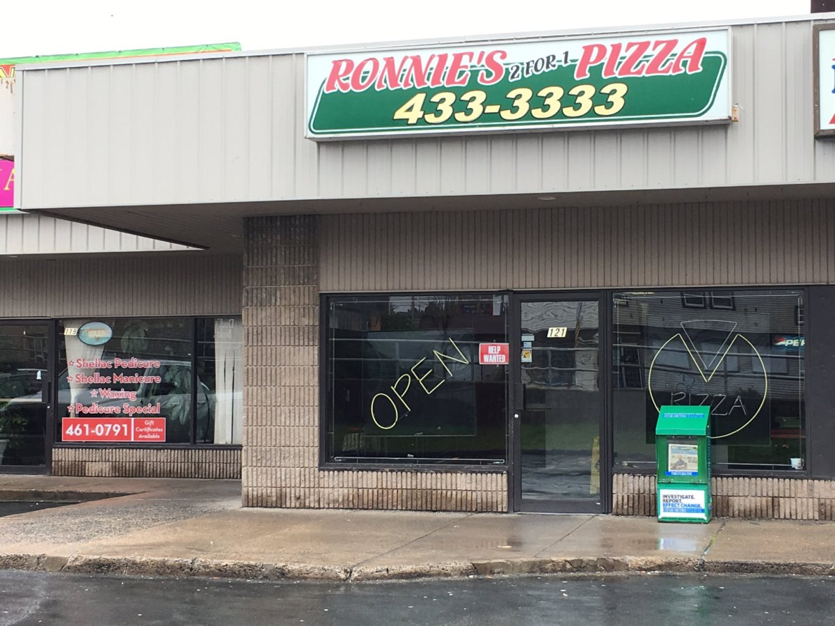 Halifax Regional Police are looking for a man who allegedly attempted to rob Ronnie's Pizza on Main Street in Dartmouth around 1 a.m., on Sunday .