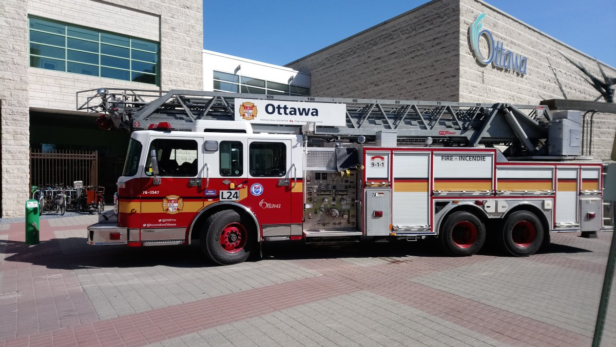 File photo of an Ottawa Fire Services truck.